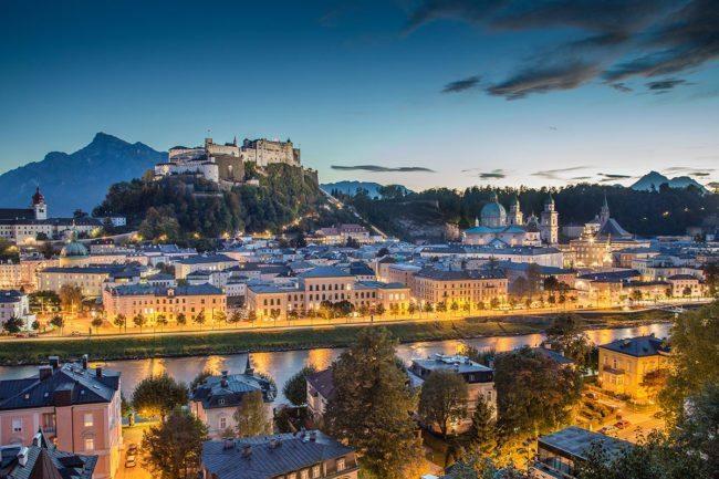 Ausflugsziel - Stadt Salzburg