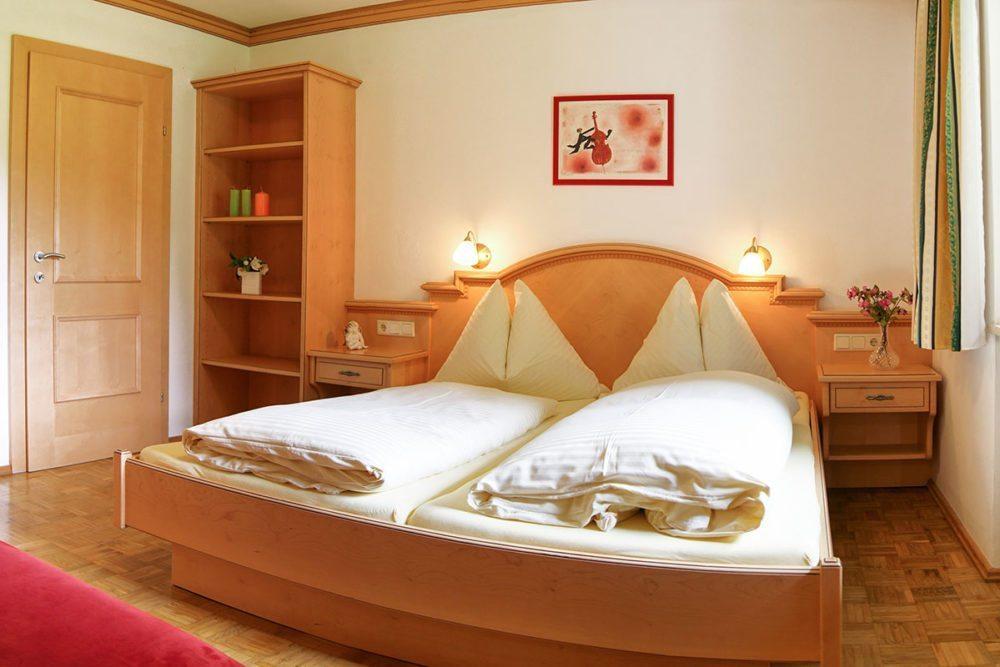 Ferienwohnung Dachstein - Schlafzimmer, Filzmoos