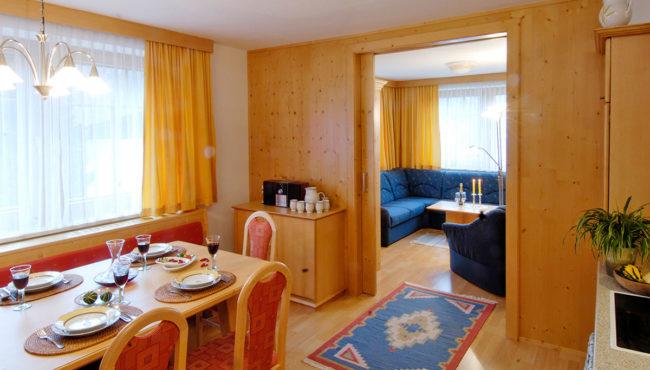 Wohnzimmer - Ferienwohnung Amadé, Flachau