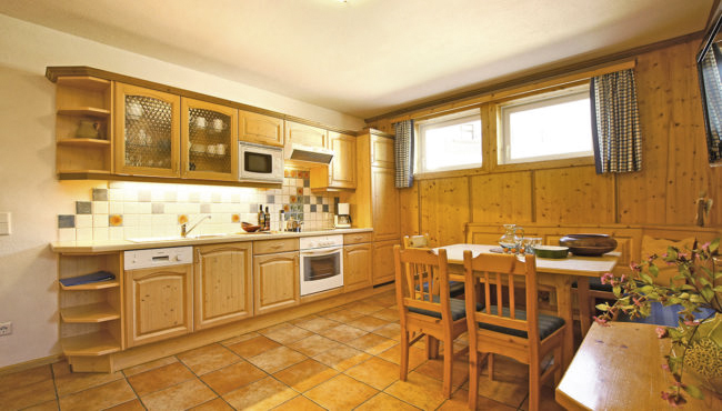 Küche - Ferienwohnung Edelweiß, Flachau