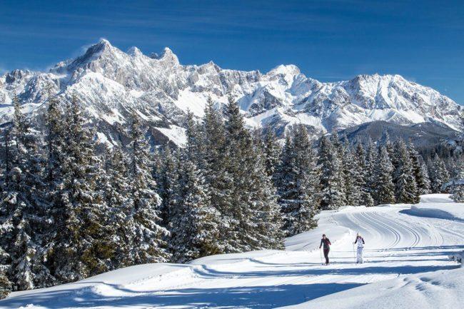 Langlaufen im Winterurlaub in Filzmoos, Salzburger Land