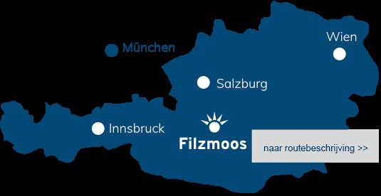 Route naar Filzmoos