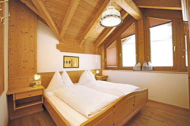 Schlafzimmer - Ferienwohnung Himmelreich, Flachau