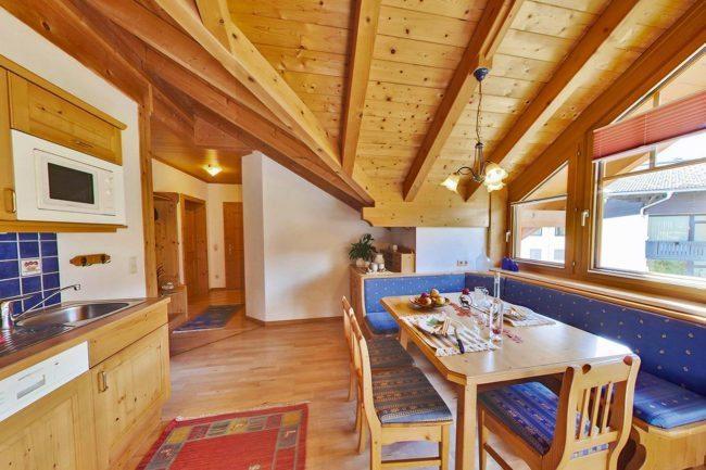 Wohnzimmer - Ferienwohnung Himmelreich, Flachau